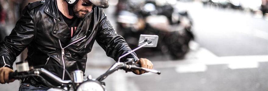 moto style vintage